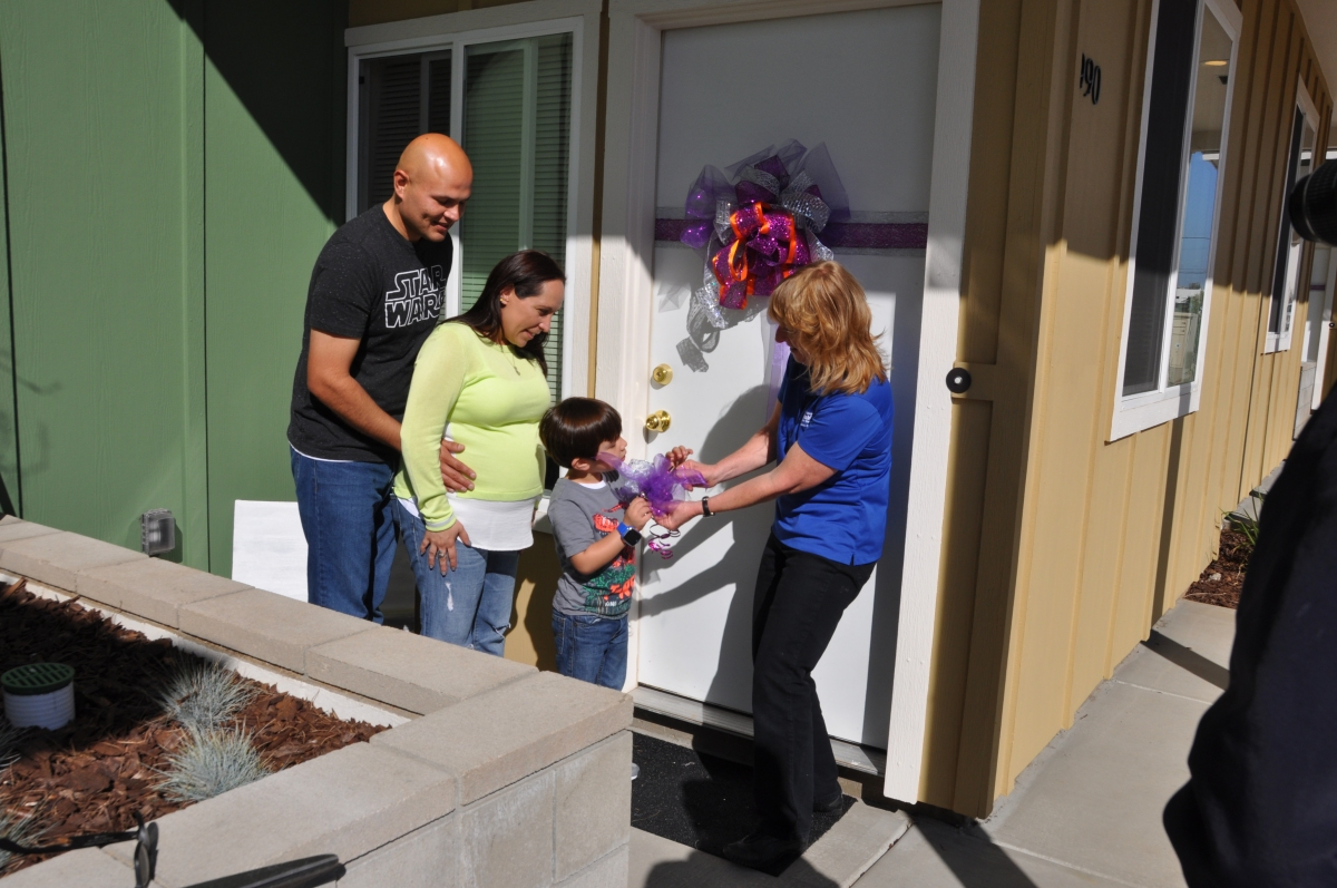 Six Families Move Into Their Homes in Imperial Beach