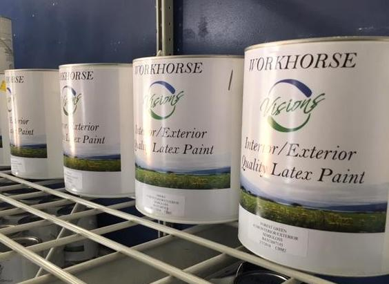 Remanufactured Paint Now Available at the ReStore